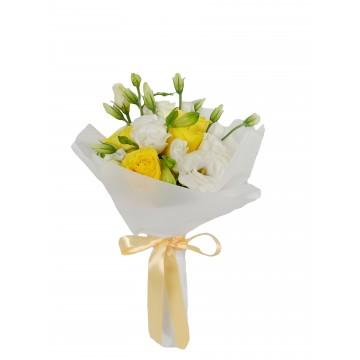 Pure Rose Yellow & White